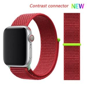 NEW CONTRAST CONNECTOR Band For Apple Watch B